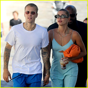 Justin Bieber & Wife Hailey Wrapped Up Their European Getaway in Greece!