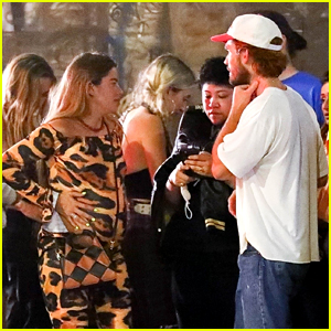 KJ Apa Steps Out For Night Out With Pregnant Girlfriend Clara Berry in LA