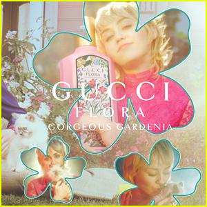 Miley Cyrus Fronts New Gucci Flora Fantasy Campaign
