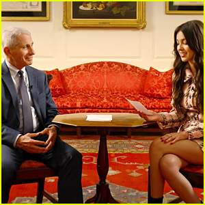 Olivia Rodrigo Reads Vaccine Tweets With Dr. Anthony Fauci - Watch!