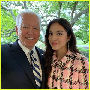 Olivia Rodrigo Thanks President Biden For Having Her at the White House