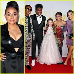 'Raven's Home' Cast Get Glammed Up For Daytime Emmy Awards 2021