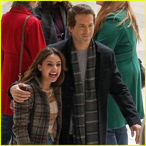 Aimee Carrero Films New Christmas Movie 'Spirited' With Ryan Reynolds (Photos)