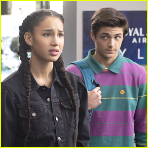 Sofia Wylie & Asher Angel Have 'Andi Mack' Reunion On 'High School Musical: The Musical: The Series'