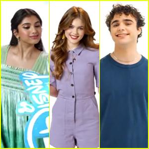 'Spin' Stars Avantika, Kerri Medders & Michael Bishop Live Out Disney Channel Wand ID Dreams