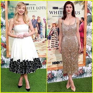 Sydney Sweeney & Alexandra Daddario Premiere New Series 'The White Lotus'