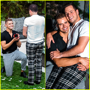 The Fitness Marshall's Caleb Marshall Proposes To Longtime Boyfriend Cameron Moody (Exclusive Photos)
