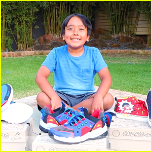 YouTube Phenom Ryan's World Launches Shoe Collection with Skechers!