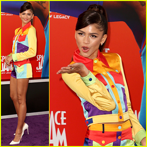 Zendaya Has Legs For Days at 'Space Jam: A New Legacy' Premiere
