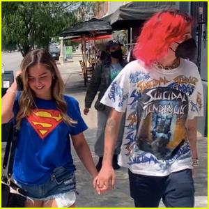 Addison Rae Grabs Lunch with Boyfriend Omer Fedi in West Hollywood!