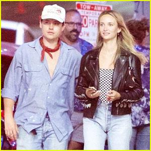 Cole Sprouse & Girlfriend Ari Fournier Grab Dinner Together in Los Feliz