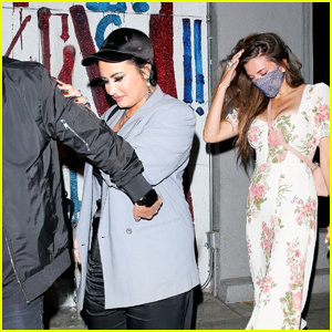 Demi Lovato Gets Dinner With a Friend in West Hollywood