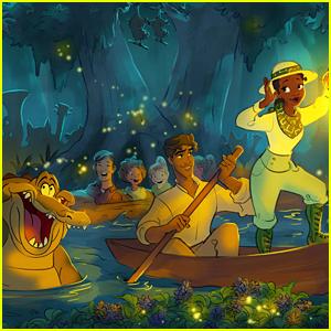 Disney Reveals New Concept Art & Details For Upcoming 'Princess & The Frog' Overhaul of Splash Mountain