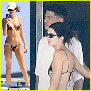 Kendall Jenner Soaks Up the Sun in Italy with Boyfriend Devin Booker