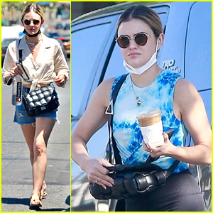 Lucy Hale Is Back Home in Los Angeles After Wrapping New Series 'Ragdoll'