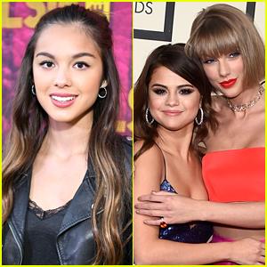 Olivia Rodrigo Dishes On Advice She Got From Selena Gomez & Taylor Swift