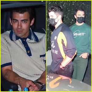Joe Jonas Celebrates His Birthday With Wife Sophie Turner & His Brothers!