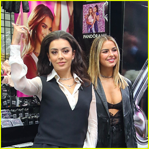 Addison Rae & Charli XCX Join Pandora ME Collective, Promote the Jewelry In NYC