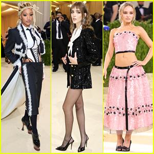 Amandla Stenberg, Talia Ryder & Lily-Rose Depp Show Their Style at Met Gala 2021
