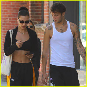 Anwar Hadid Meets Up With Sister Bella Hadid For Walk Out in NYC