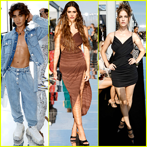 Bretman Rock, Amelia Gray & Barbara Palvin Attend Dundas x Revolve Fashion Show