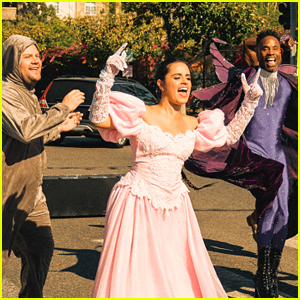 Watch Camila Cabello Perform in 'Crosswalk the Musical' with the 'Cinderella' Cast! (Full Video)