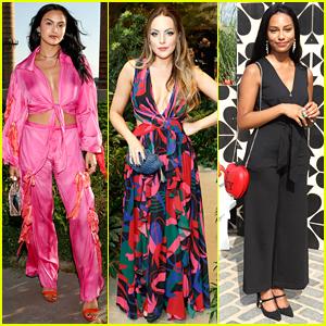 Camila Mendes, Elizabeth Gillies & Savannah Smith Get New York Fashion Week Started!