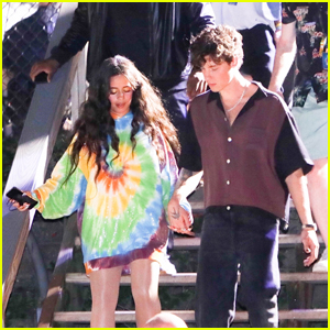 Camila Cabello & Shawn Mendes Head Out Holding Hands After Global Citizen Performance