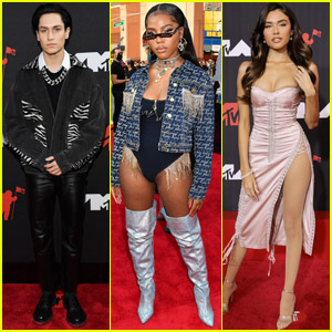 Chase Hudson, Quenlin Blackwell, Madison Beer & More Step Out for the MTV VMAs