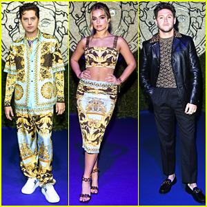 Cole Sprouse, Addison Rae & More Attend Versace & Fendi Collaboration Fashion Show