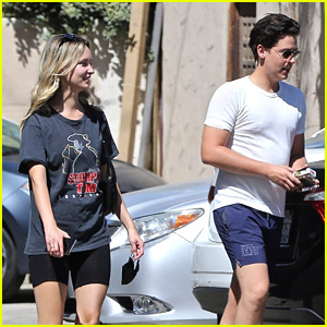Cole Sprouse & Ari Fournier Step Out For Late Breakfast Date in LA