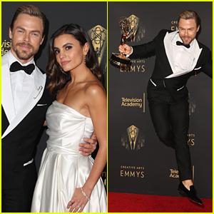 Derek Hough Dances His Way To Another Emmy Award Win!!