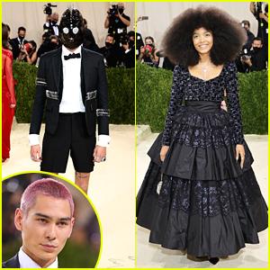 Evan Mock & Whitney Peak Wear Very Different Looks For Met Gala 2021