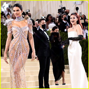 Gigi Hadid Has the Best Reaction to Kendall Jenner at Met Gala 2021