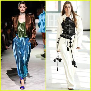 Gigi Hadid Wraps Up New York Fashion Week On Tom Ford Runway