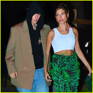 Justin & Hailey Bieber Head Out To Post-VMAs Party in NYC