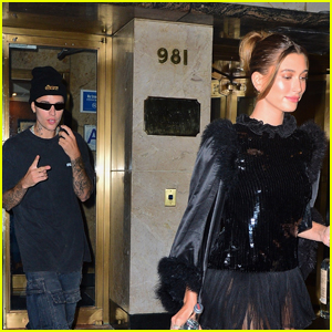 Justin Bieber & Wife Hailey Head to His Met Gala 2021 After-Party in NYC!