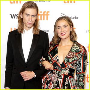 Haley Lu Richardson Joins Owen Teague at 'Montana Story' Premiere in Toronto
