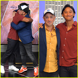 Josh Dela Cruz & Steve Burns Celebrate 'Blue's Clues' 25th Anniversary at Empire State Building After Emotional Viral Video