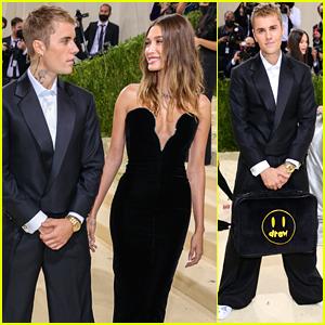 Justin Bieber Brings Drew House to Met Gala 2021 With Hailey Bieber