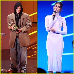 Justin Bieber Dressed in Over-Sized Clothing at VMAs 2021 While Hailey Went Chic in Alaia