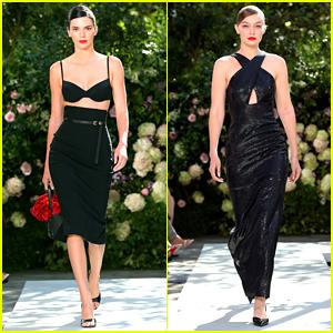 Kendall Jenner & Gigi Hadid Open & Close Michael Kors Collection Fashion Show