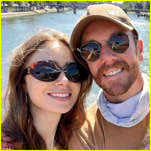 Lily Collins & Charlie McDowell Have Woodsy Weekend Wedding!