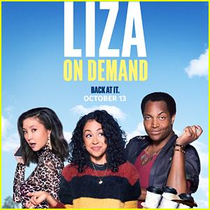 Liza Koshy, Kimiko Glenn & Travis Coles Star In 'Liza On Demand' Season 3 Trailer - Watch Now!
