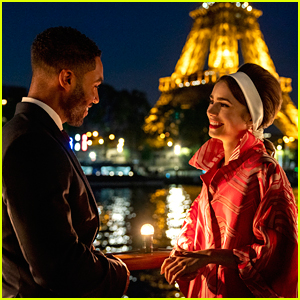Lucien Laviscount Joins 'Emily In Paris' In First Look Season 2 Photos!