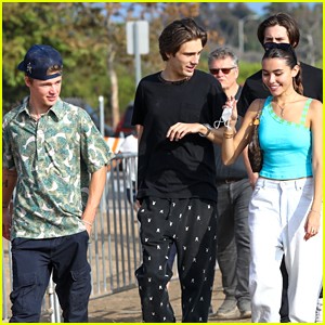 Madison Beer & Nick Austin Hit Up Malibu Chili Cook-Off with Friends