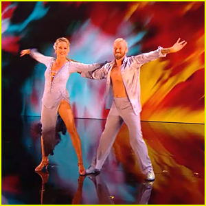 Melora Hardin Rumbas with Artem Chigvintsev On 'Dancing With The Stars' Week 2 - Watch Now!