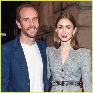 Newlyweds Lily Collins & Charlie McDowell Step Out For Cartier Dinner In Berlin