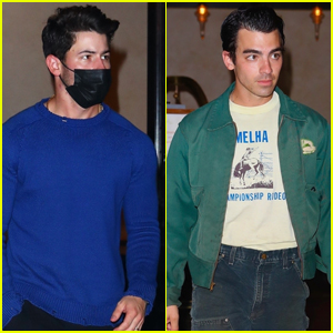 Nick & Joe Jonas Head to One of Their Concerts on Their 'Remember This Tour'!