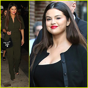 Selena Gomez Wears Chic Little Black Dress For 'Only Murders In The Building' Promo